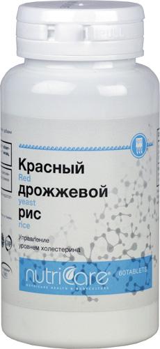 Красный дрожжевой рис, таблетки, 60 шт