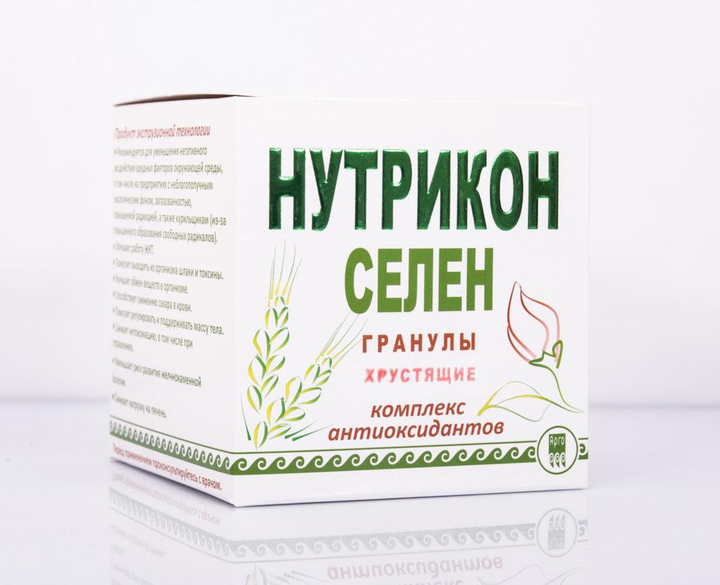 Нутрикон Селен, хрустящие гранулы, 350 г