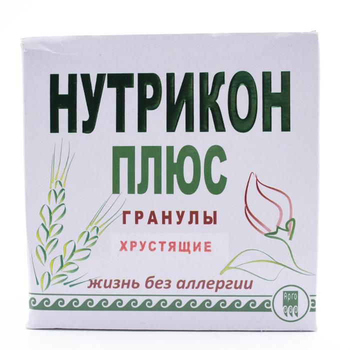 Нутрикон Плюс, хрустящие гранулы, 350 г