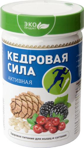 Продукт белково-витаминный «Кедровая сила — Активная», 237 г