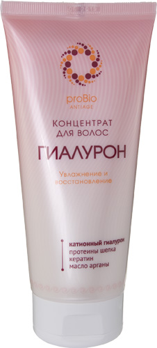 Концентрат для волос «Гиалурон», увлажнение и восстановление, 200 мл