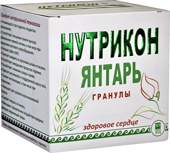 Нутрикон Янтарь, гранулы цилиндрические 350 г