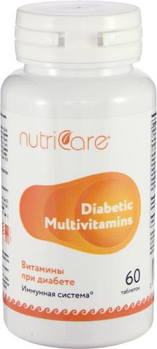 Витамины при диабете, 60 таблеток