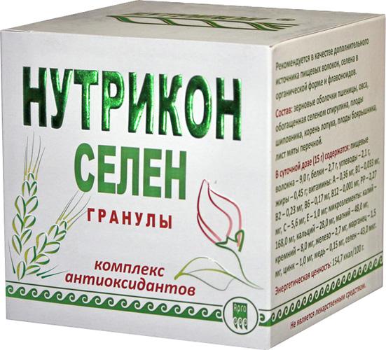 Нутрикон Селен, гранулы цилиндрические 350 г.