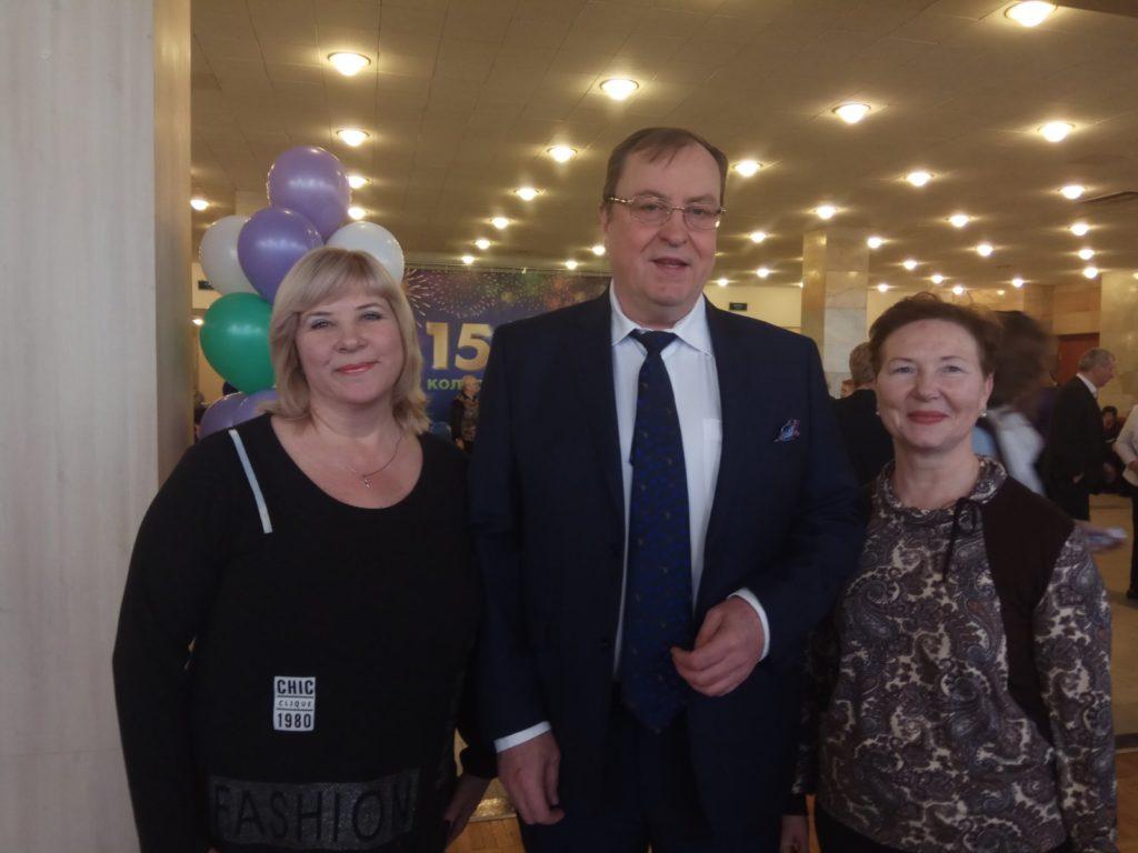 Празднование дня рождения компании «ЭД Медицин». Москва, март 2019г.